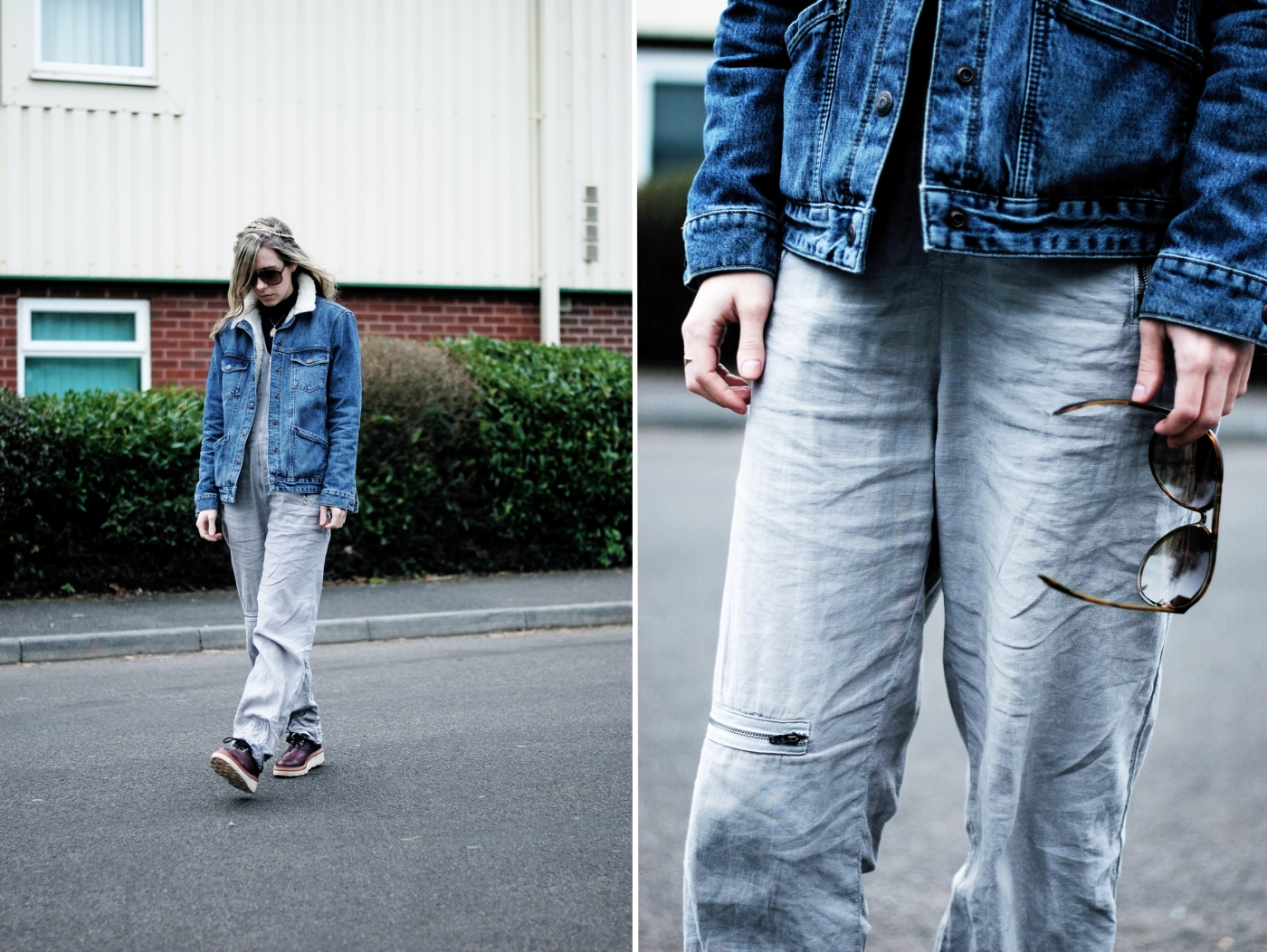 boiler suit & denim