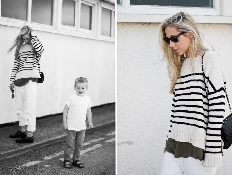 Double Stripes! Mum, Aunty & Nephew Style