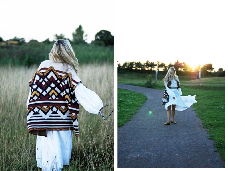 Style Stament: The Patterned & Fringed Knit