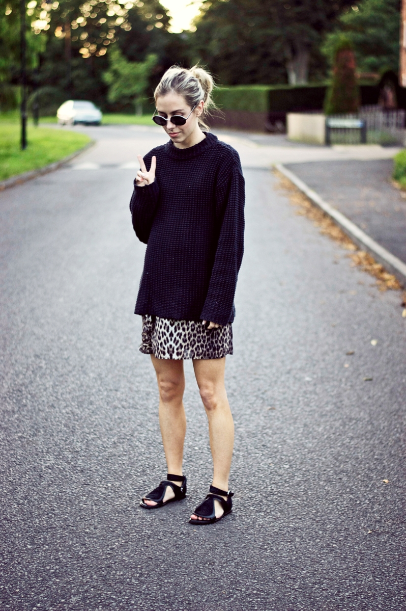 Friday's Style: That Leopard Print Touch!