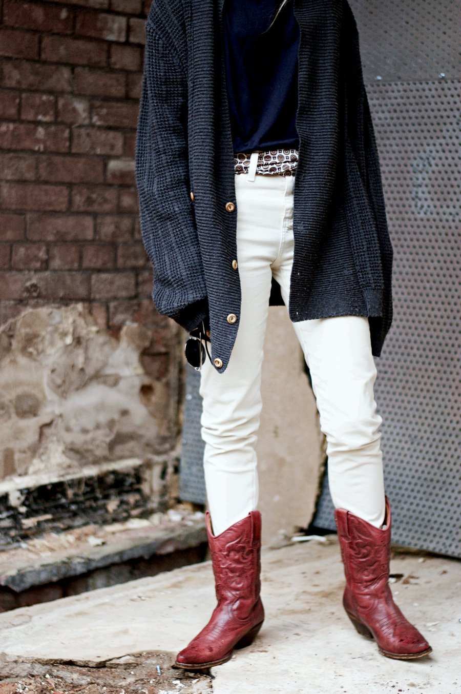 The Outfit: Old Cowboy Boots