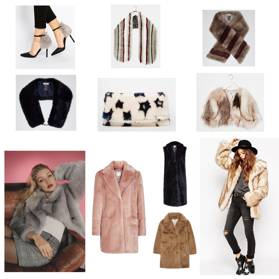 Faux Fur! My Top Picks