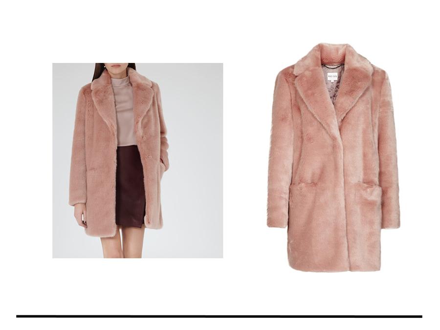 Today's Focus! That Pink Coat