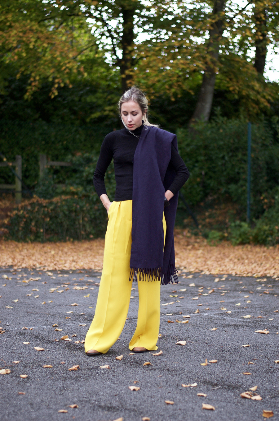 Inspired By Autumn: Yellow Trousers