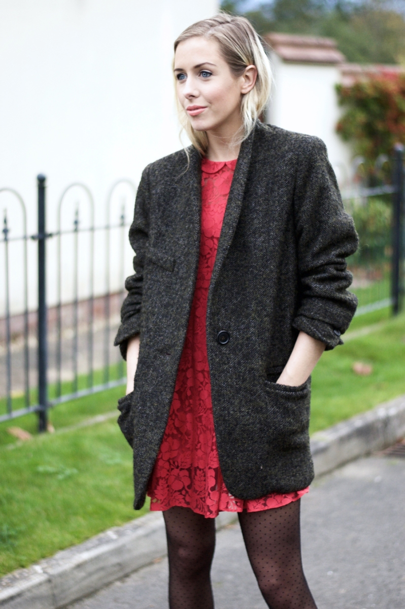 Revisiting My Old Red Lace Dress