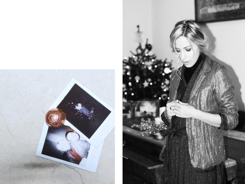 My Christmas Eve Outfit: Paisley Print & Fur