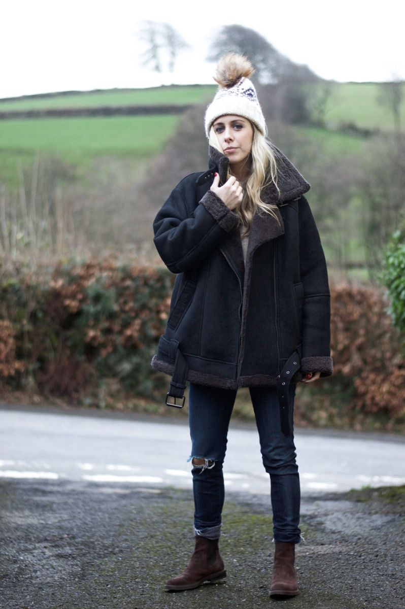 Ticked Of The Wishlist! The Shearling Jacket