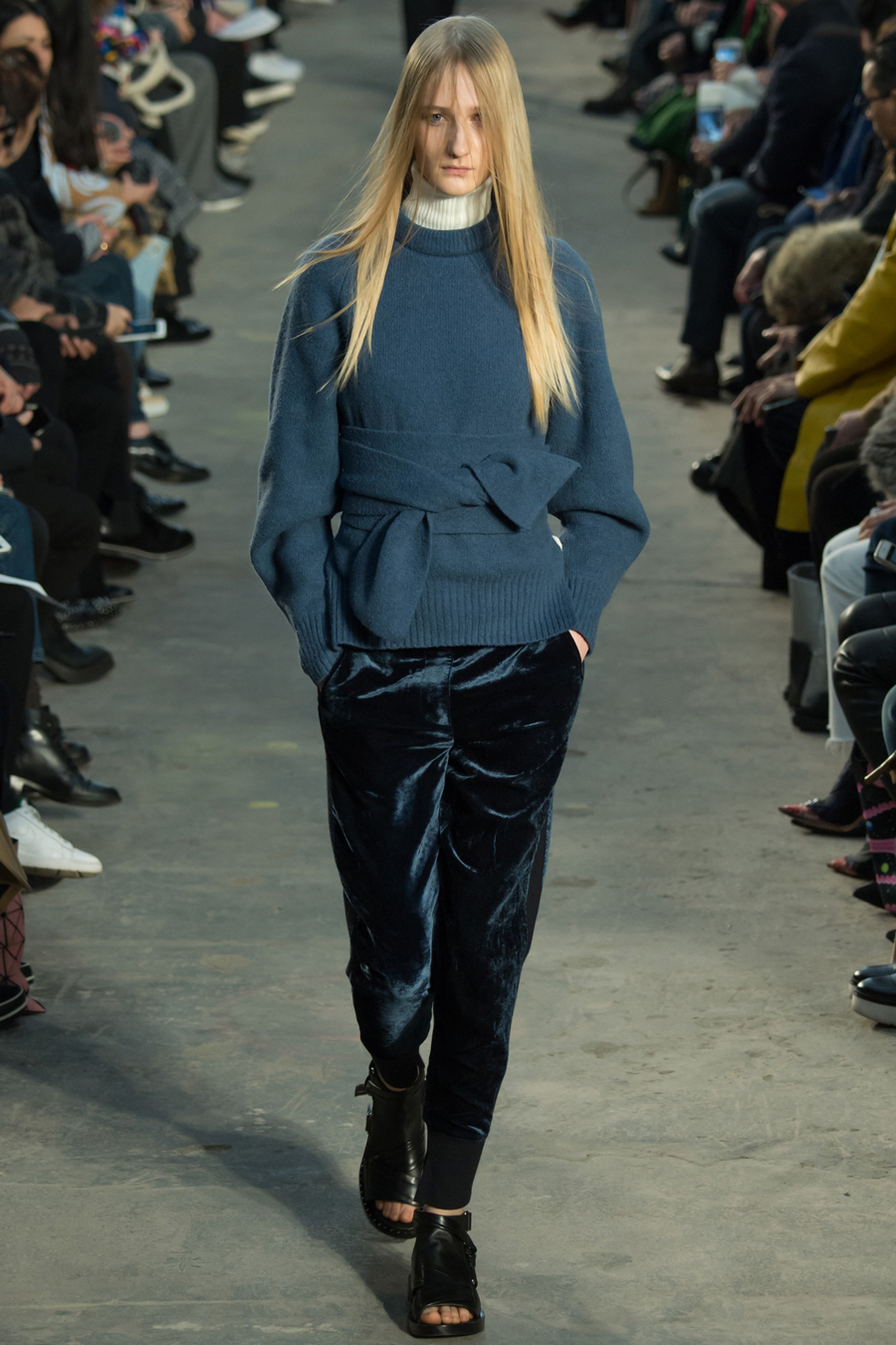 Blue Texture With 3.1 Phillip Lim