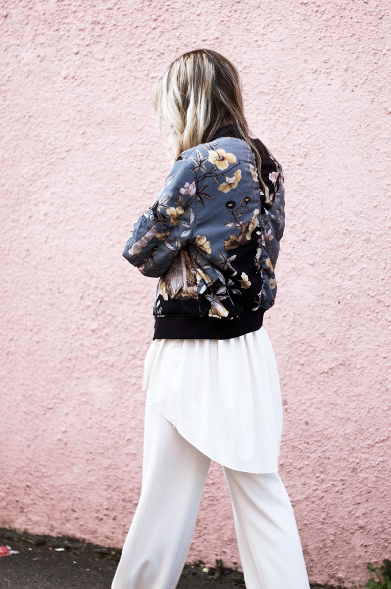 Here It Is! All Saints Printed Bomber Jacket