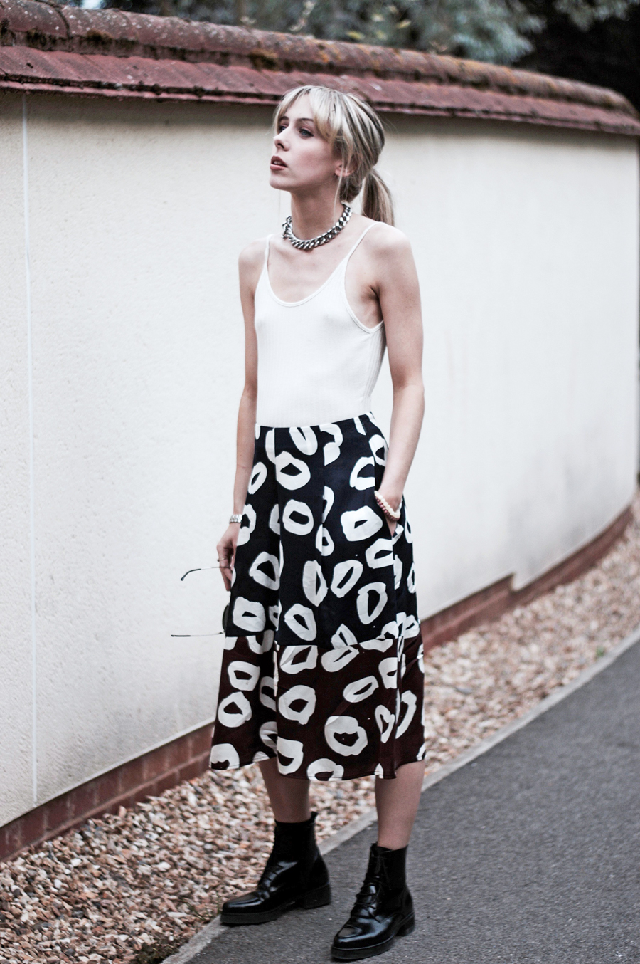 "These ""meant to be"" Printed Culottes"