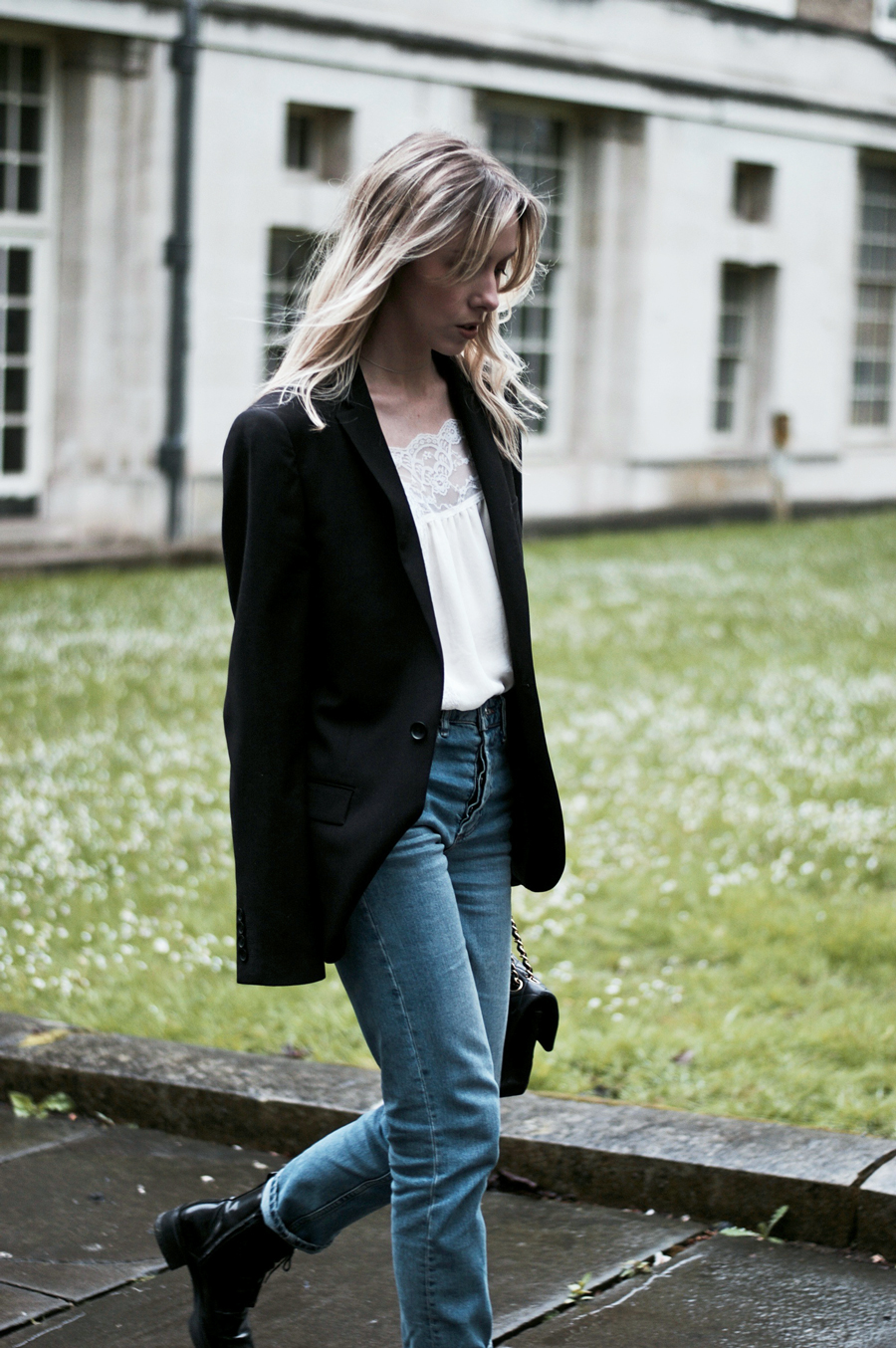 Rainy Day Style. A Simply, Chic Look